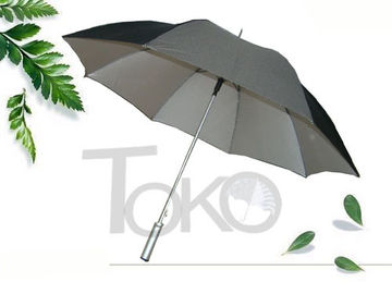UV Protection Walking Stick Umbrella , Easy Open Umbrella Cane Walking Stick