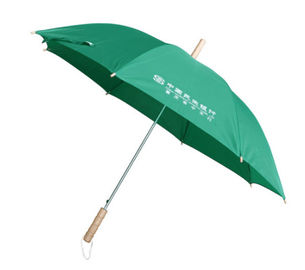 High End Straight Handle Umbrella Metal Frame High Density Fabric Repels Water